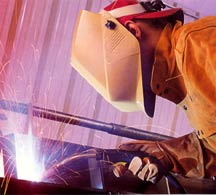 Spatter-free welds